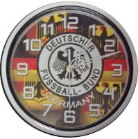 Germany Supporter Clock